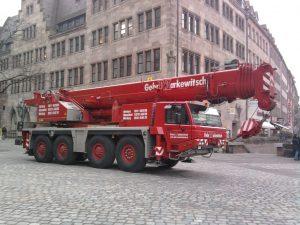 Teleskopkran 70 Tonnen